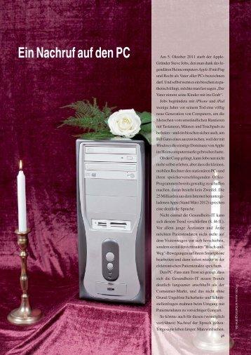 Ein Nachruf auf den PC - Trillium GmbH