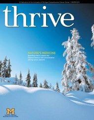 Nature's MediciNe - University of Michigan Comprehensive Cancer ...