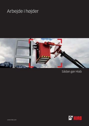 Arbejde i højder - SAWO A/S