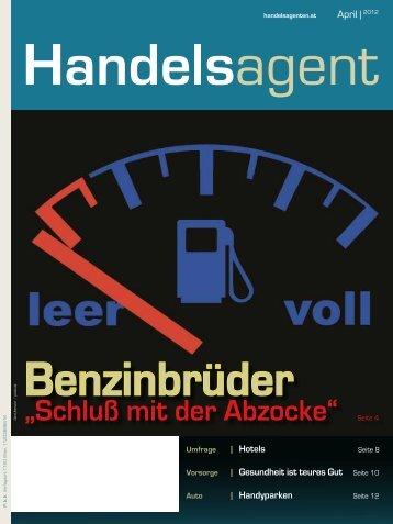 Schluß mit der Abzocke - der österreichischen Handelsagenten