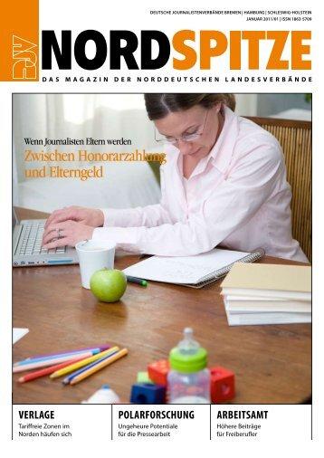 Zwischen Honorarzahlung und Elterngeld - DJV Hamburg