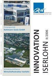 Kottmann Gosla GmbH INNOV A TION - Gesellschaft für ...