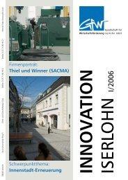 Thiel und Winner (SACMA) - Gesellschaft für Wirtschaftsförderung ...
