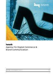 hmmh Agentur für Digital Commerce & Brand Communication