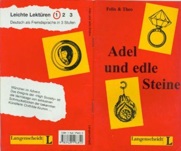 Adel und edle Steine, Felix Theo
