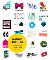 DYNAMIC IDENTITIES How to create a living brand