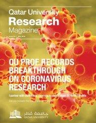 QU prof records breakthrough on coronavirus research