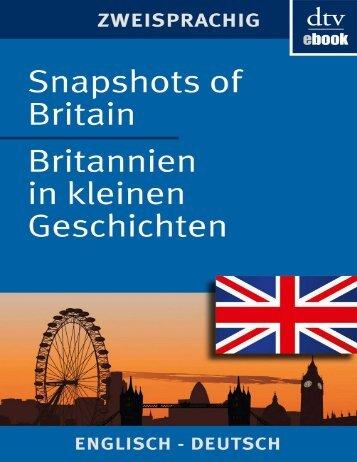 Snapshots of Britain, Britannien in kleinen Geschichten