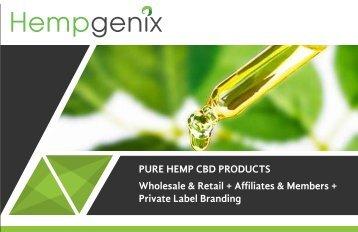 Pure Hemp CBD Products