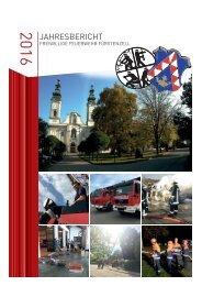 FFW Jahresbericht 2016