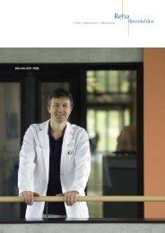 Geschäftsbericht 2005 - bei der Reha Rheinfelden