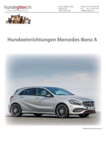 Mercedes_A_Hundeeinrichtungen