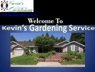 Yard Maintenance Oakland, CA  Kevin's Gardening Service