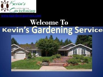 Yard Maintenance Oakland, CA| Kevin's Gardening Service