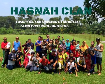 OUR MY BIG FAMILYS