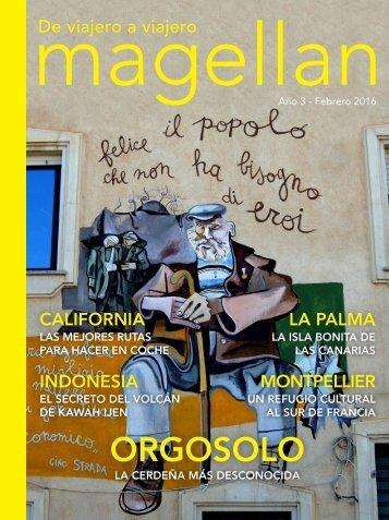 Revista de viajes Magellan - Febrero 2017