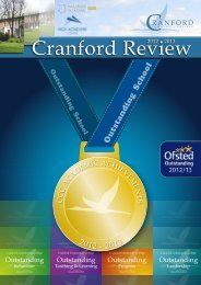 Cranford Review 2012-2013 (Annual edition 2013)