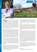 Cranford Review 2014-2015 (Annual edition 2015) - Page 2