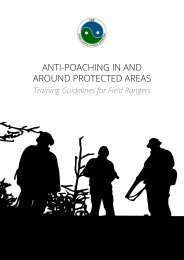 ANTI-POACHING IN AND AROUND PROTECTED AREAS
