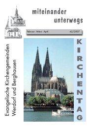 herziche einladung zur 29. kinder - bibel - woche - Ev. Kirche ...