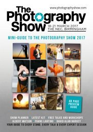 mini-guide to The Photography Show 2017