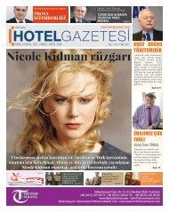 HOTEL GAZETESİ  - MART  2 SAYI 2017 -