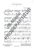 """Notenbuch """" Die Vier Jahreszeiten"""" von  A. Vivaldi / Arr.: Prof. V. Romanko - Seite 3"""