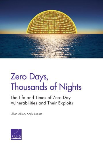 Zero Days Thousands of Nights