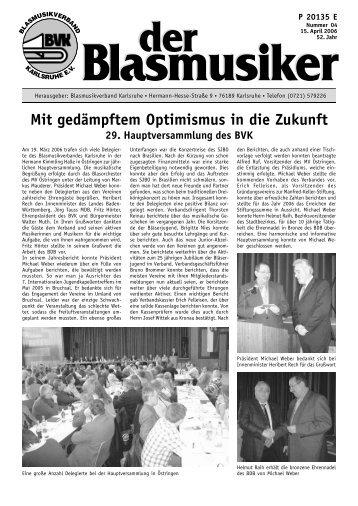 Musikverein - Blasmusikverband Karlsruhe