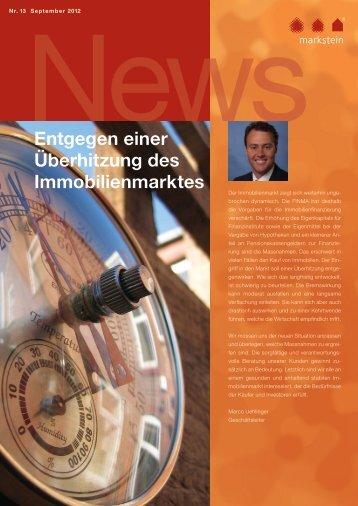 Liegenschaften mit Renditepotential – und es gibt sie ... - Markstein AG