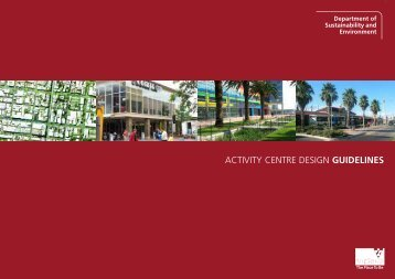 Activity Centre Design Guidelines - Department of Planning and ...
