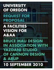 day - School of Architecture and Allied Arts Blog - University of Oregon