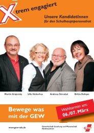 Der Schulhauptpersonalrat beim - GEW Niedersachsen