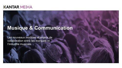 Musique & Communication