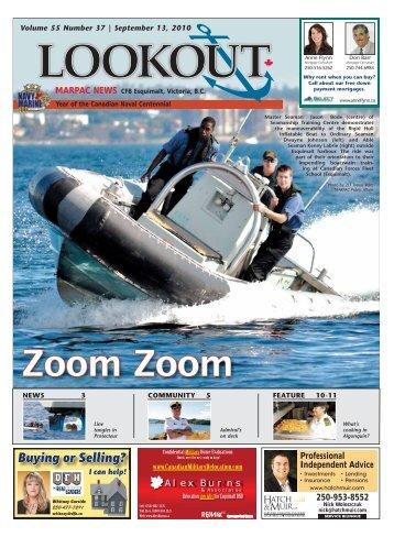 September 13, 2010 Volume 55 #37 - Lookout Newspaper