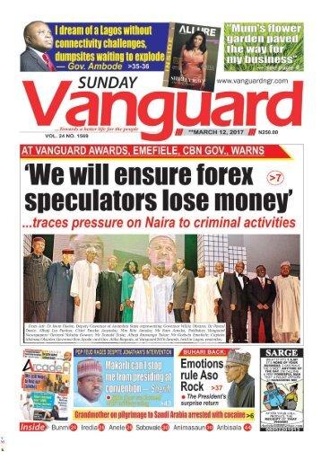 12032017 - We will ensure forex speculators lose money