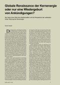 Globale Renaissance der Kernenergie oder nur eine Wiedergeburt ... - Seite 3