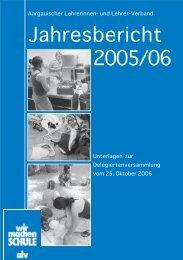 Jahresbericht 2005/06 - alv