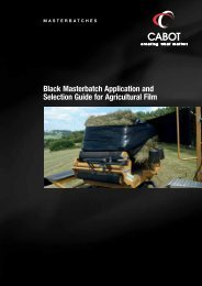 Black Masterbatch Application and Selection Guide for Agricultural ...