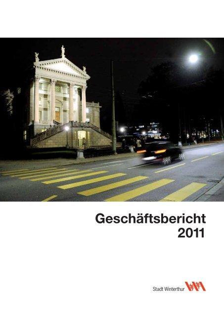 Geschäftsbericht 2011 - Portal Winterthur