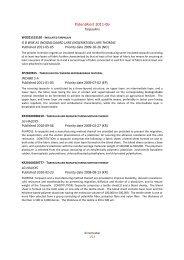 PatentAlert 2011-06 Tarpaulins - Centexbel