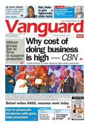 13032017 - Why cost of doing business is high - CBN