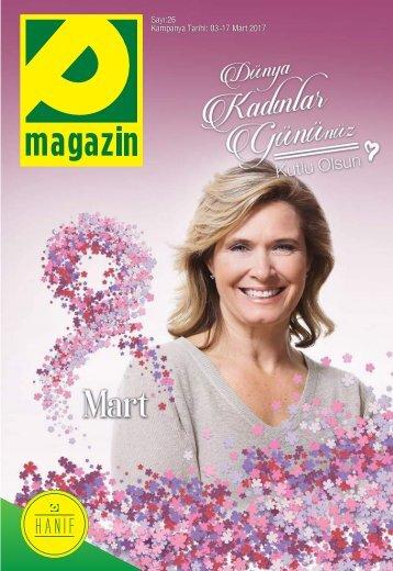 Sayı:26 Kampanya Tarihi 03 -17 Mart 2017