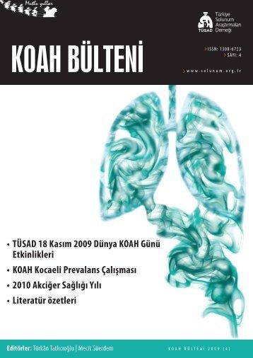 KOAH Bülteni 2009 Sayı 4