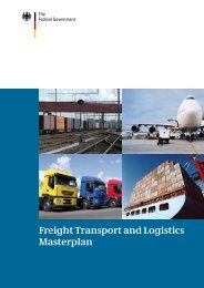 Freight Transport and Logistics Masterplan - Bundesministerium für ...