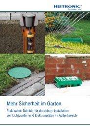 Sicherheit im Garten