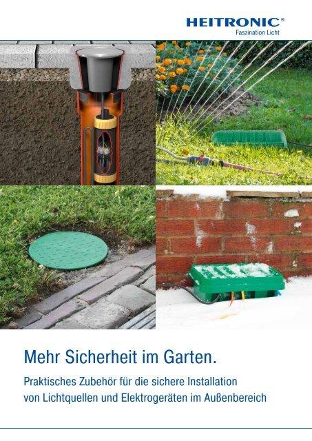 Garten Verteilerdose Bodeneinbaudose Gartenverteiler Gartenbau Ventilboxen