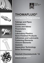RCT Reichelt Chemietechnik GmbH + Co. - Complete Programme (EN)