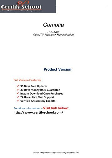 RC0-N06 Test Certification