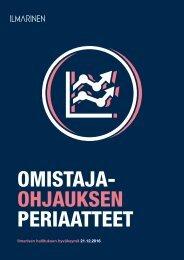 OMISTAJA- OHJAUKSEN PERIAATTEET